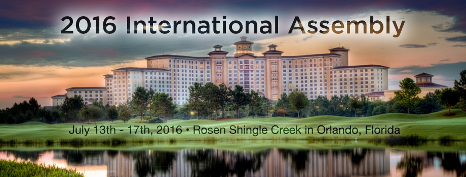 2016 International Assembly