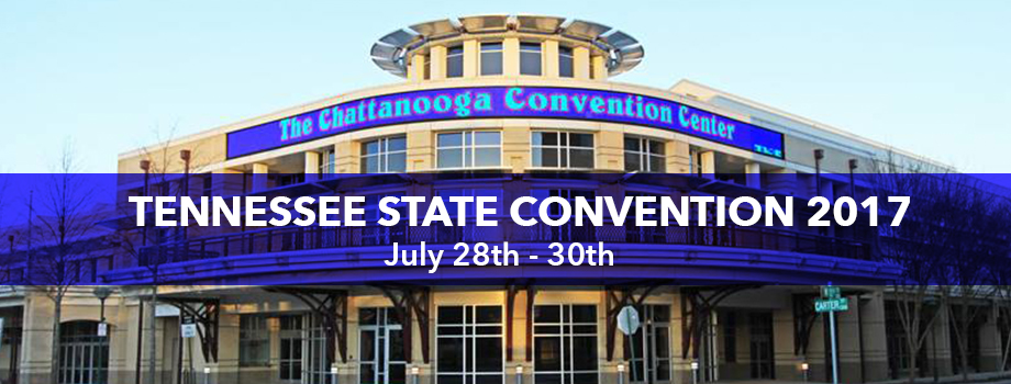 Join us for the TN State Convention in Chattanooga, TN! Click for more information.