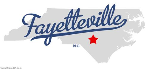 map_of_fayetteville_nc