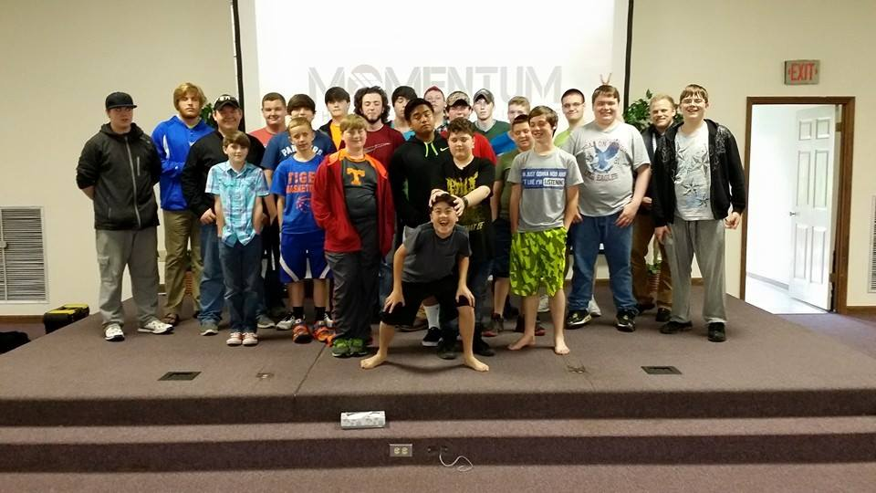 Campers and Staff from the 2015 Momentum Retreat