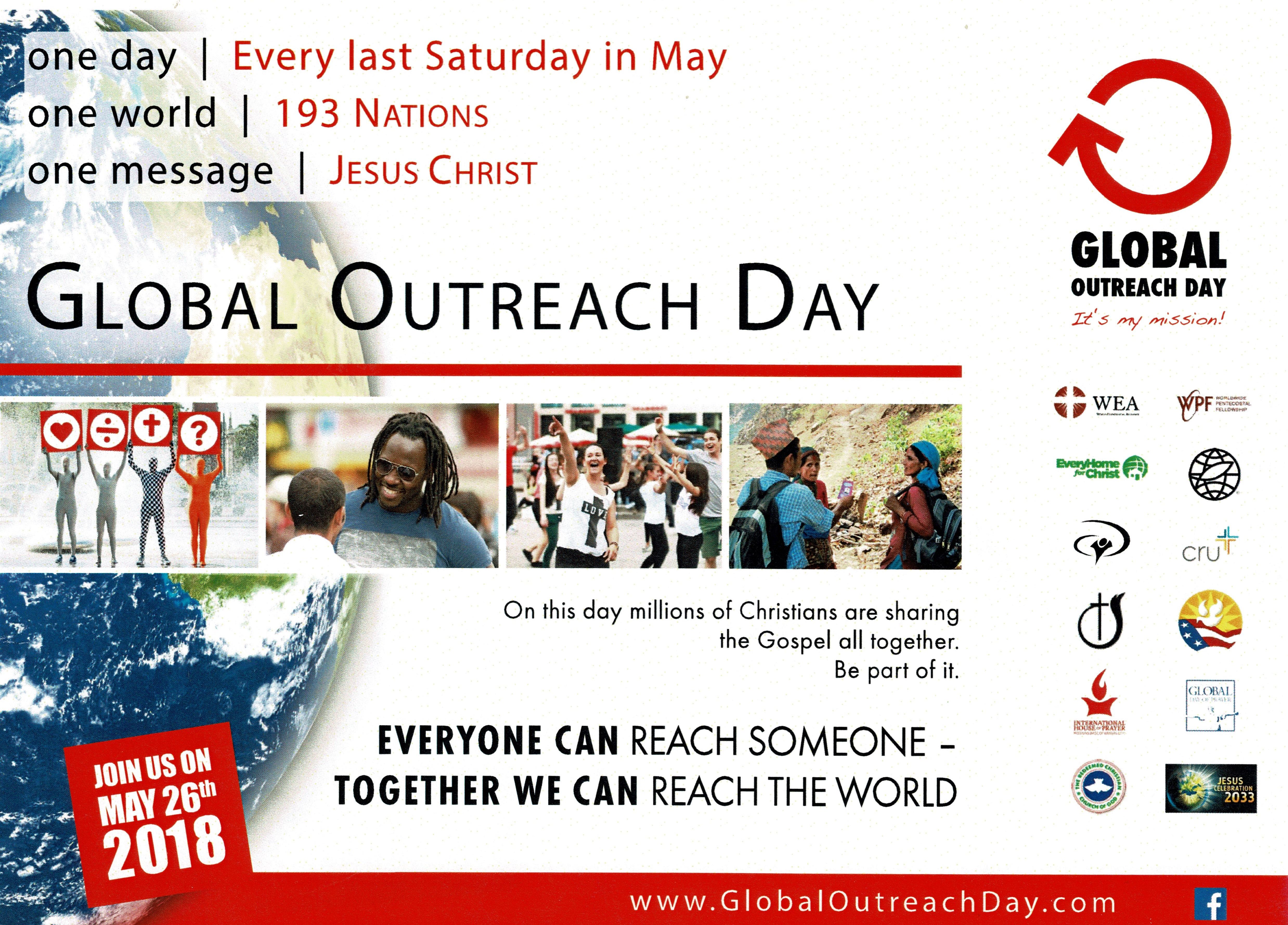 Church of God of Prophecy Tennessee State Office | Global Outreach Day