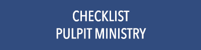 Checklist - Pulpit Ministry Download